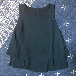 コムサイズム(COMME CA ISM)のノースリーブ(シャツ/ブラウス(半袖/袖なし))