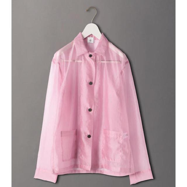 BEAUTY&YOUTH UNITED ARROWS(ビューティアンドユースユナイテッドアローズ)のROKU スケシャツ レディースのトップス(シャツ/ブラウス(長袖/七分))の商品写真