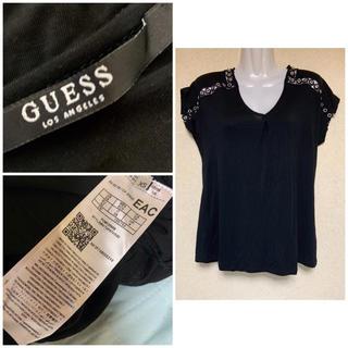 ゲス(GUESS)のGUESS の 黒 Tシャツ 未使用(Tシャツ(半袖/袖なし))