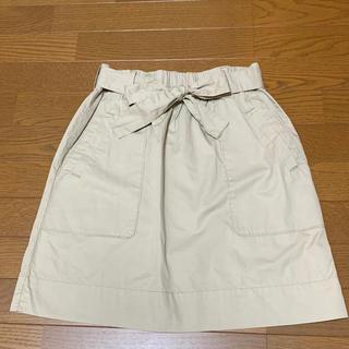 ギャップ(GAP)のGAP ベージュ ジャンパースカート(ひざ丈スカート)