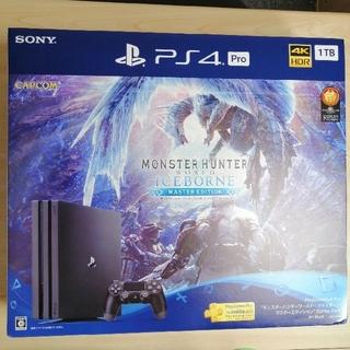PlayStation4 - PS4 Pro 1TB モンスターハンターワールド マスターエディション