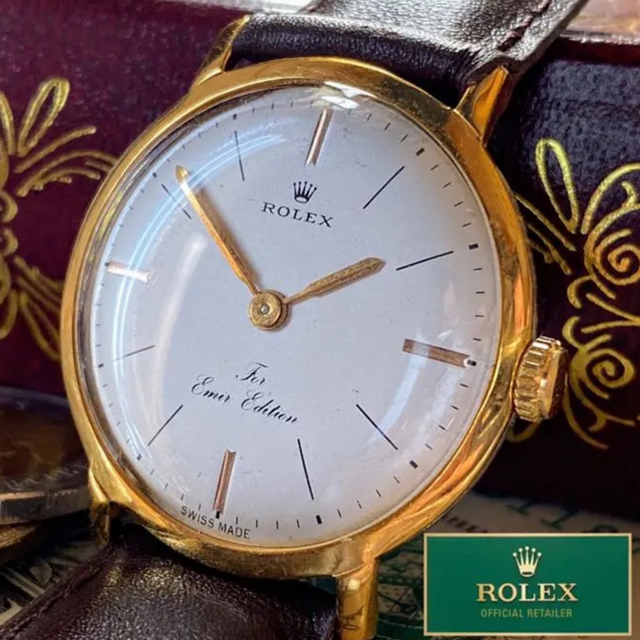 ROLEX - 早い者勝ち!【一点限り】美品 ★ ROLEX ★ ロレックス 14KGP 豪華の通販 by A.LUNA