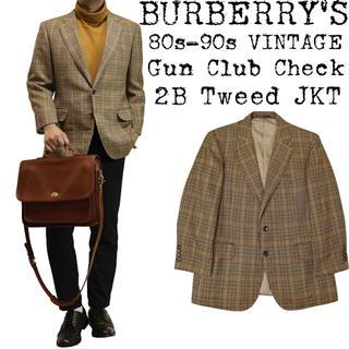BURBERRY - ★美品★BURBERRY★バーバリー★80s〜★ガンクラブチェック ジャケット★
