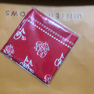 ジーディーシー(GDC)のgirl's don't cry Cherryコラボ 限定バンダナ(バンダナ/スカーフ)