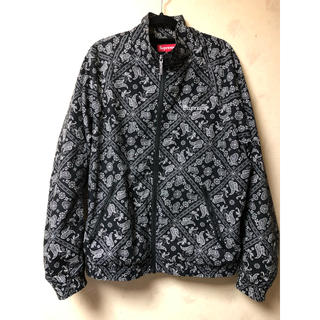 Supreme - supreme bandana track jacket M