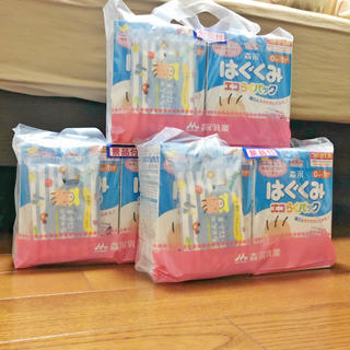モリナガニュウギョウ(森永乳業)のはぐくみ エコらくパック つめかえ用 800g×6箱(乳液 / ミルク)
