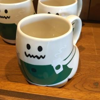 スターバックスコーヒー(Starbucks Coffee)のスターバックス◆ハロウィン2019◆マグゴースト◆HALLOWEEN(グラス/カップ)