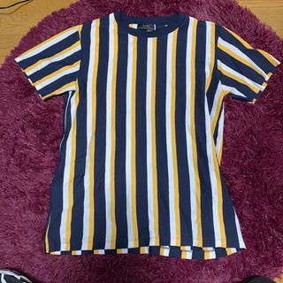 ザラ(ZARA)のストライプTシャツ(Tシャツ/カットソー(半袖/袖なし))