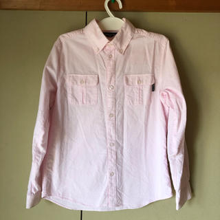 コムサイズム(COMME CA ISM)のコムサイズム 長袖 シャツ 140 ピンク(ブラウス)