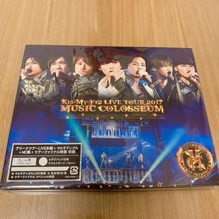 キスマイフットツー(Kis-My-Ft2)のLIVE TOUR 2017 MUSIC COLOSSEUM(Blu-ray盤)(ミュージック)