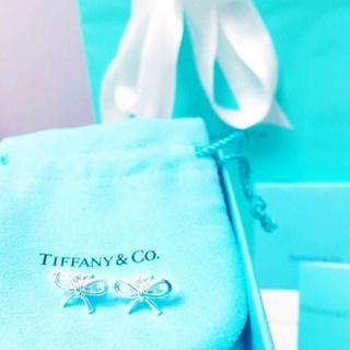 ティファニー(Tiffany & Co.)の☆新品☆未使用☆Tiffany&Co. ティファニー ボウピアス(ピアス)