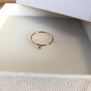 ユナイテッドアローズ(UNITED ARROWS)の特別sale UNITED ARROWS 新品未使用 ゴールドポイントリング(リング(指輪))