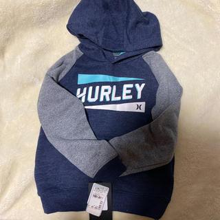 Hurley - HURLEY 裏起毛パーカー 100