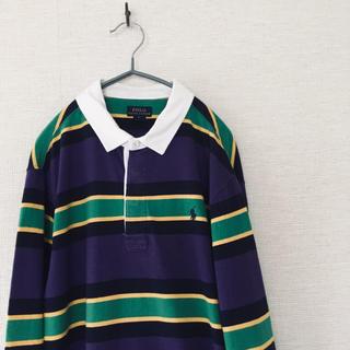 ポロラルフローレン(POLO RALPH LAUREN)のPOLO RalphLaurenポロラルフローレンラガーシャツインド綿ポロシャツ(ポロシャツ)