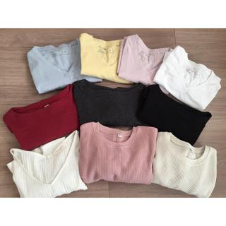 UNIQLO - シンプル無地Tシャツまとめ売りS〜Mサイズ