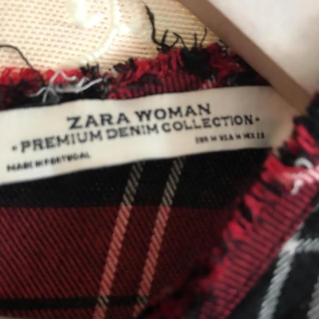 ZARA(ザラ)のZARAチェックワンピース レディースのワンピース(ロングワンピース/マキシワンピース)の商品写真
