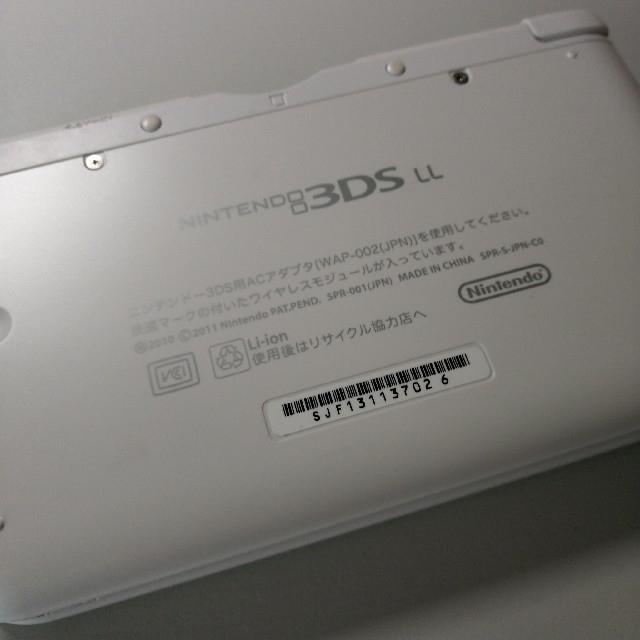 ニンテンドー3DS(ニンテンドー3DS)の3DS LL エンタメ/ホビーのゲームソフト/ゲーム機本体(携帯用ゲーム機本体)の商品写真
