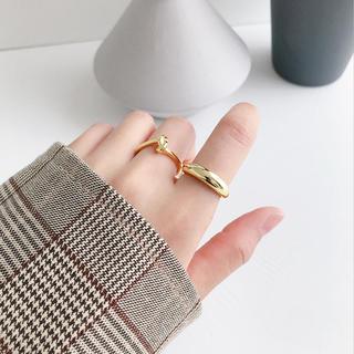 silver925シンプルぷっくりリング(リング(指輪))