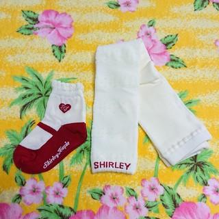 シャーリーテンプル(Shirley Temple)のお値下げ♥シャーリーテンプル♥新品♥レギンス&ソックス(靴下/タイツ)
