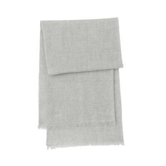MUJI (無印良品)(ムジルシリョウヒン)の新品   無印良品  カシミヤ平織りストール  レディースのファッション小物(ストール/パシュミナ)の商品写真
