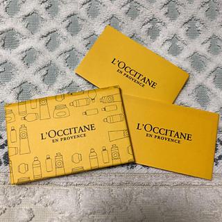 ロクシタン(L'OCCITANE)の未使用☆ロクシタンミニミラー&あぶらとり紙(ミラー)
