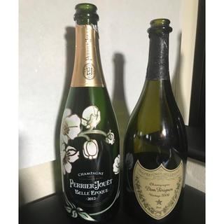 ドンペリニヨン(Dom Pérignon)のシャンパン★空き瓶★ドンペリ★ベルエポック(シャンパン/スパークリングワイン)
