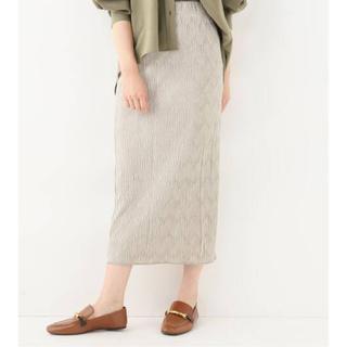 Spick and Span - ※最終値下げ Spick&Span ベルベットプリーツタイトスカート