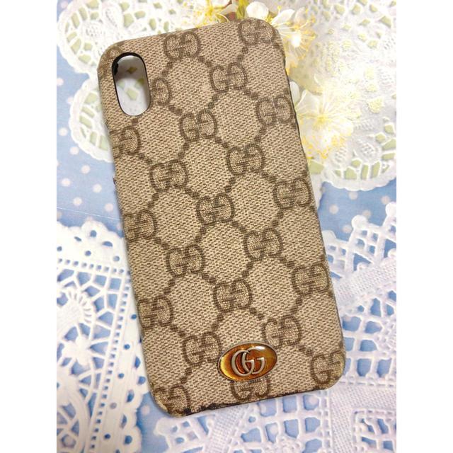 Gucci - GUCCI iPhone X 専用ケースの通販