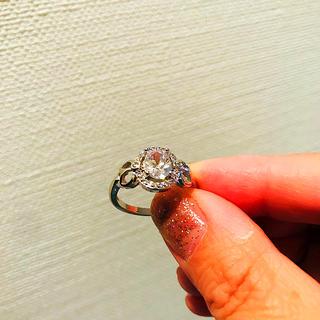 キラキラキレイな指輪 15号 新品タグ付き(リング(指輪))