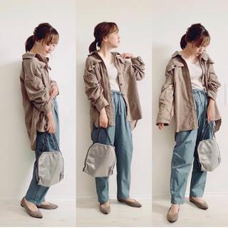 シマムラ(しまむら)のてらさん着用!しまむら×プチプラのあやPAポケツキシャツJKTコーデュロイGU(シャツ/ブラウス(長袖/七分))