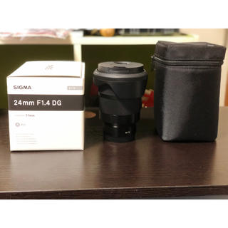 SIGMA - 期間限定値下げ シグマ 24mm f1.4 ソニー eマウント