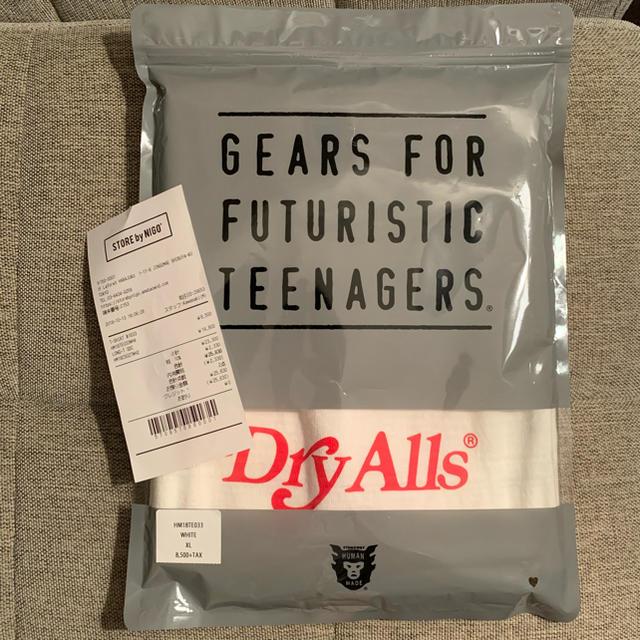 Supreme(シュプリーム)のhuman made × girl's don't cry コラボTシャツ メンズのトップス(Tシャツ/カットソー(半袖/袖なし))の商品写真