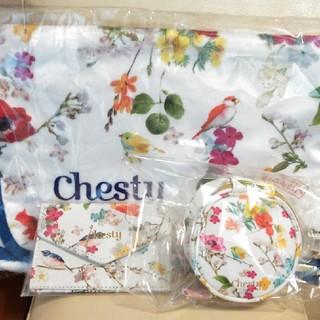 Chesty - チェスティ chesty  ウォレット ミニ財布 ポーチブランケット おまけ付
