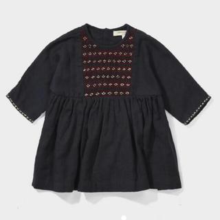 キャラメルベビー&チャイルド(Caramel baby&child )のcaramel  baby&child 刺繍ワンピース(ワンピース)