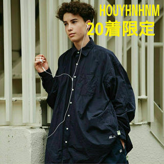 BEAMS - HOUYHNHNM SSZ × A.H mens big shirt