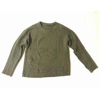 シマムラ(しまむら)の緑 セーター L レディース(ニット/セーター)