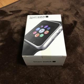 【新品未開封】Smart watch A1 スマートウォッチ シルバー