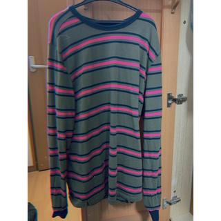 コムデギャルソン(COMME des GARCONS)のpoptradingcompany harold stripe カットソー(Tシャツ/カットソー(七分/長袖))