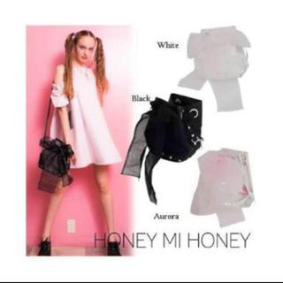 ハニーミーハニー(Honey mi Honey)のリボン2wayバッグ(リュック/バックパック)