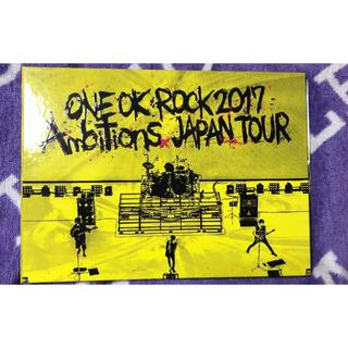 ワンオクロック(ONE OK ROCK)の早い者勝ち!ONE OK ROCK ambitions 2017 DVD 美品(ミュージック)