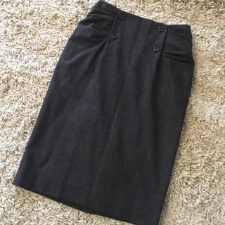 クリスチャンディオール(Christian Dior)のDior デザインスカート(ひざ丈スカート)