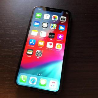 iPhone - iphone X 256G softbankSIMフリー済み