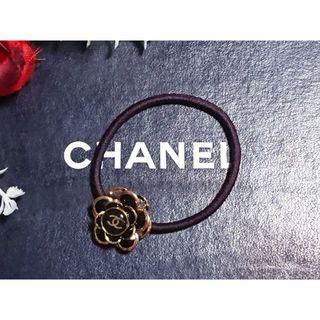 CHANEL - 111-1 シャネルロゴ/ヘアゴム