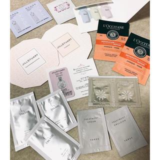 ジルスチュアート(JILLSTUART)の化粧品サンプル(サンプル/トライアルキット)