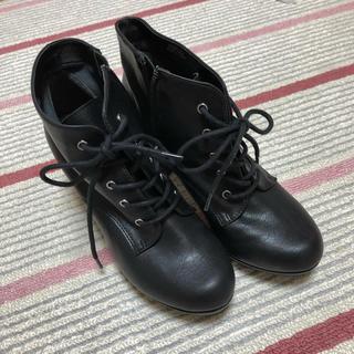 ヌォーボ(Nuovo)のnuovo 黒ブーツ Mサイズ(ブーツ)