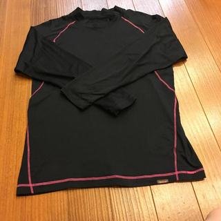 シマムラ(しまむら)のメンズ しまむら ファイバーヒート FIBER HEAT アンダーシャツ レッド(Tシャツ/カットソー(七分/長袖))