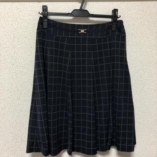 ミッシェルクラン(MICHEL KLEIN)のミッシェルクラン フレアスカート(ひざ丈スカート)