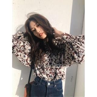 moussy - ☆完売品 MOUSSY FLOWER PRINTED JACQUARD シャツ