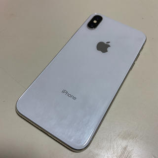 Apple - iPhoneX 64G silver SIMフリー
