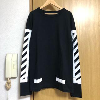 オフホワイト(OFF-WHITE)のOFF-WHITE ロンT(Tシャツ(長袖/七分))